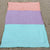 Linen Turquoise/Orange/Violet Beach Blanket