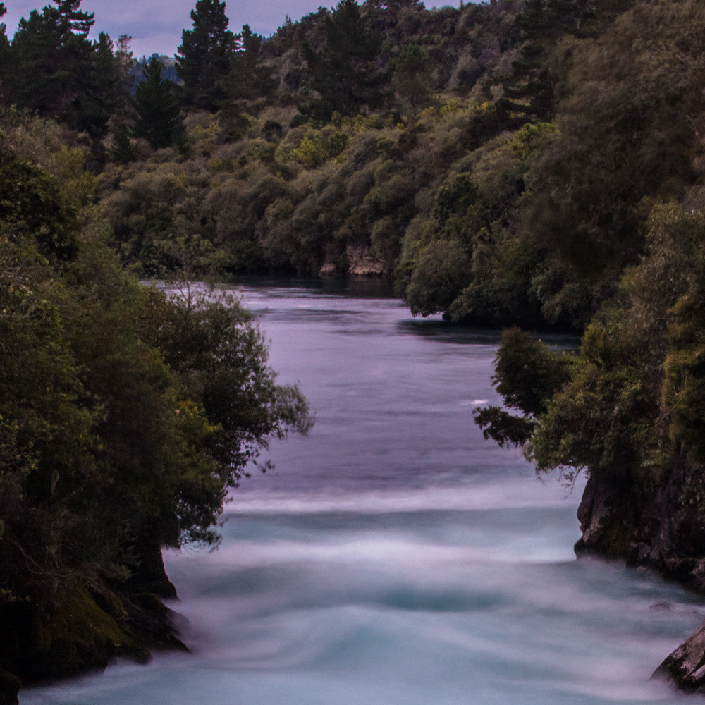 Huka Falls - Downstream