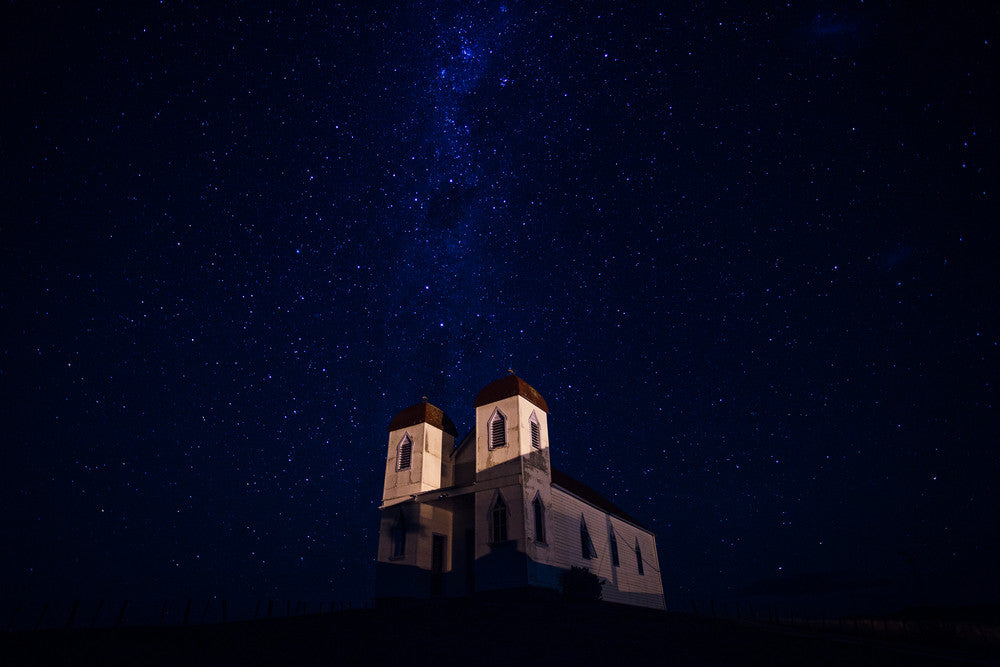 Raetihi Ratana Church Under The Milky Way