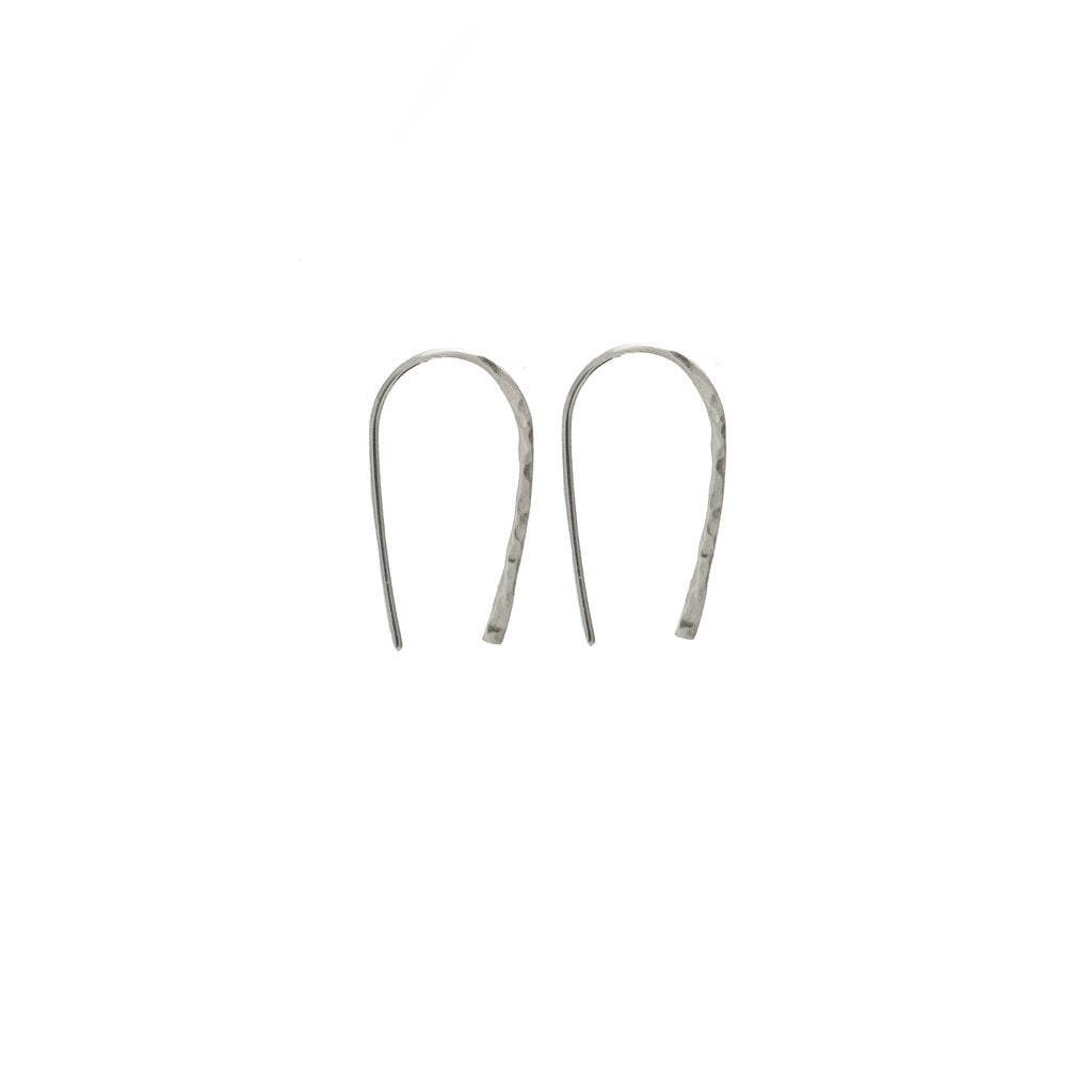 Wishful Earrings / Sterling Silver - Small
