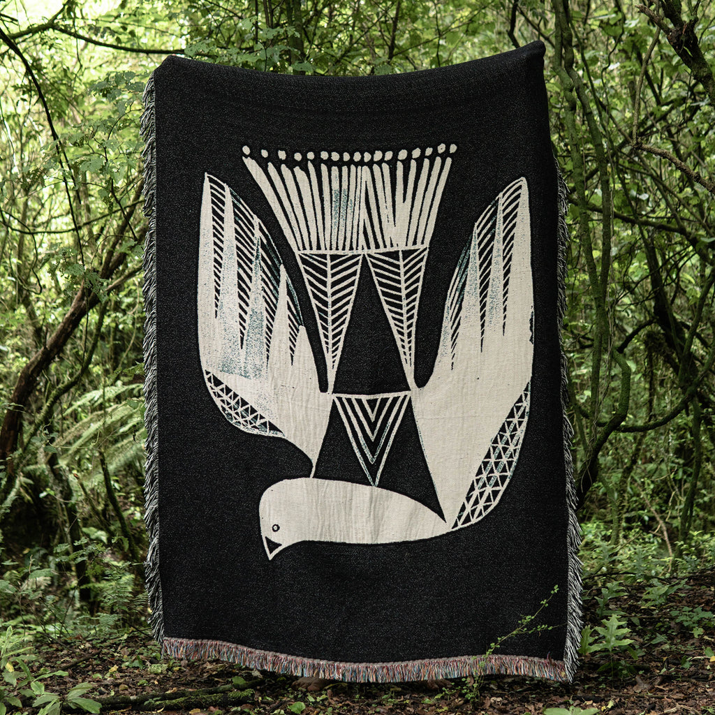 Kereru Throw