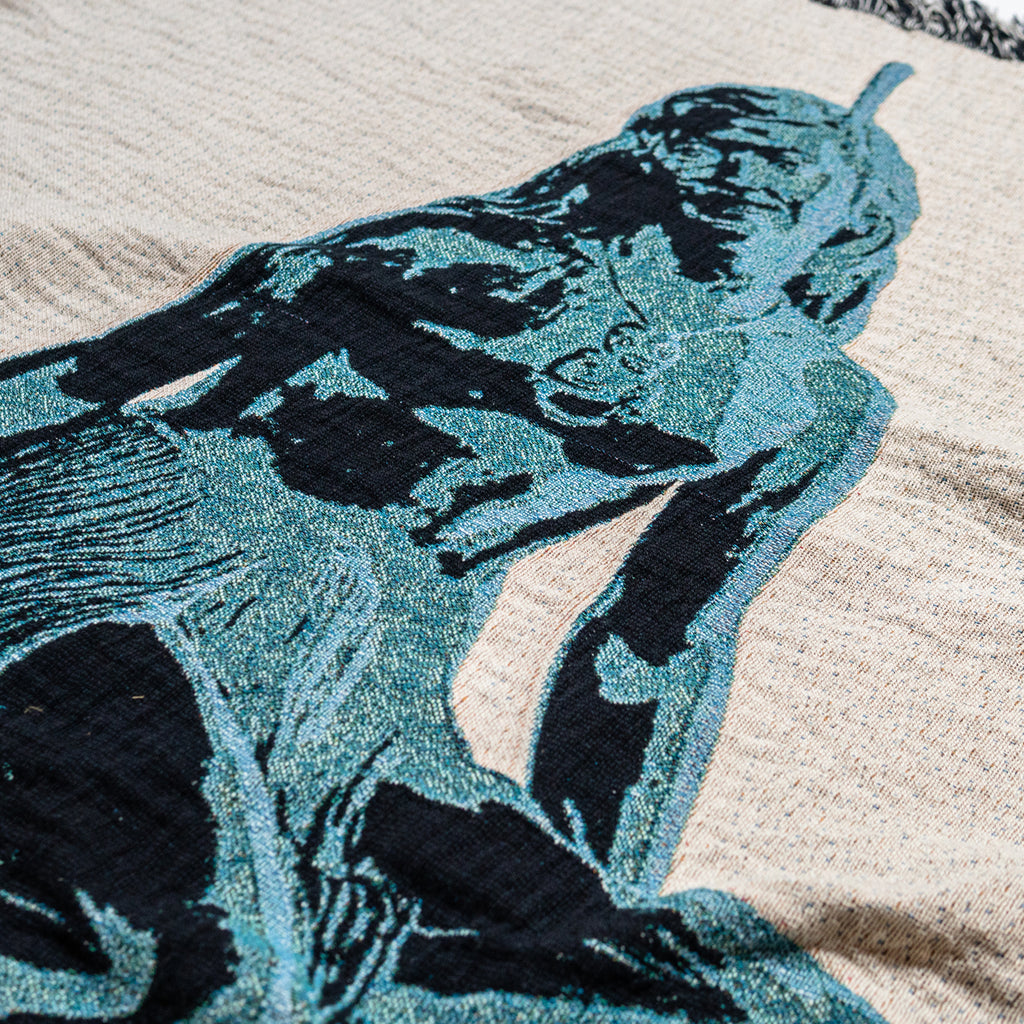Blue Pania Throw