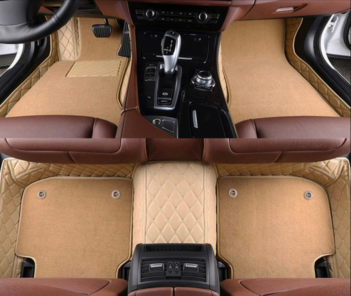 Beige with carpet Front and Rear