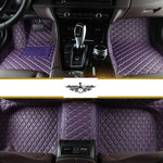 Violet Diamond Style Front Mats Only