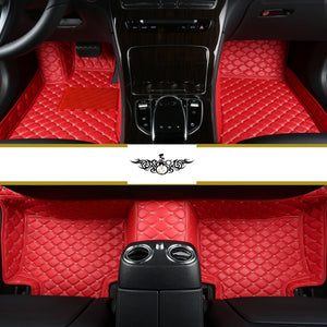 Red Diamond Style Front Mats Only