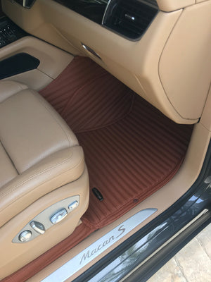 Caramel Stripes Front Mats Only