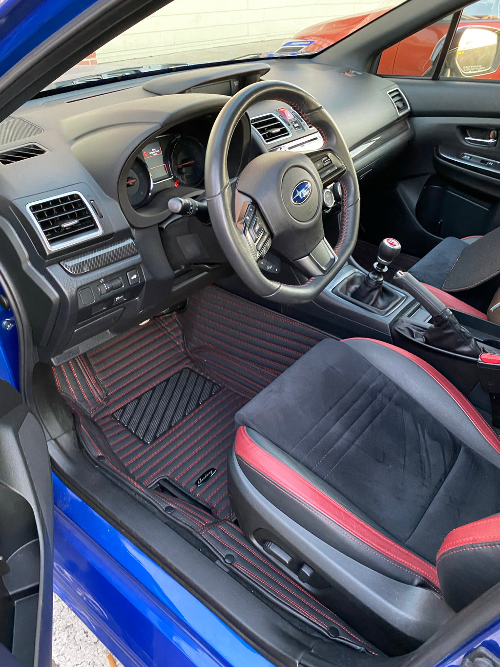 Mahogany Stripes Front Mats Only