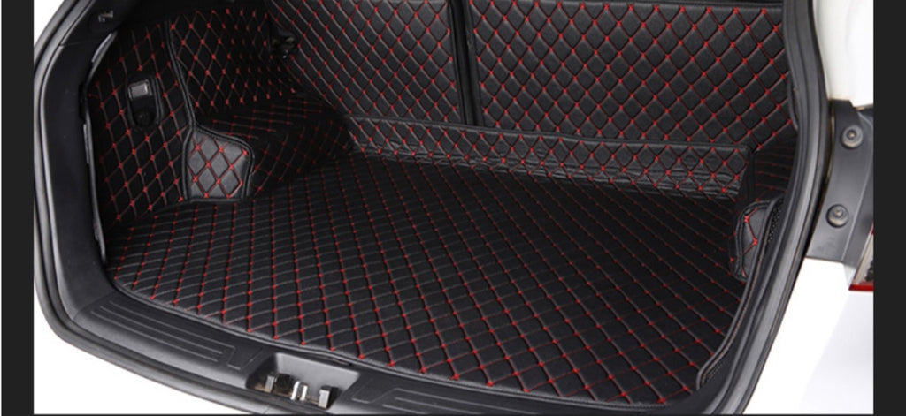 Full cover Cargo mat Black and Red