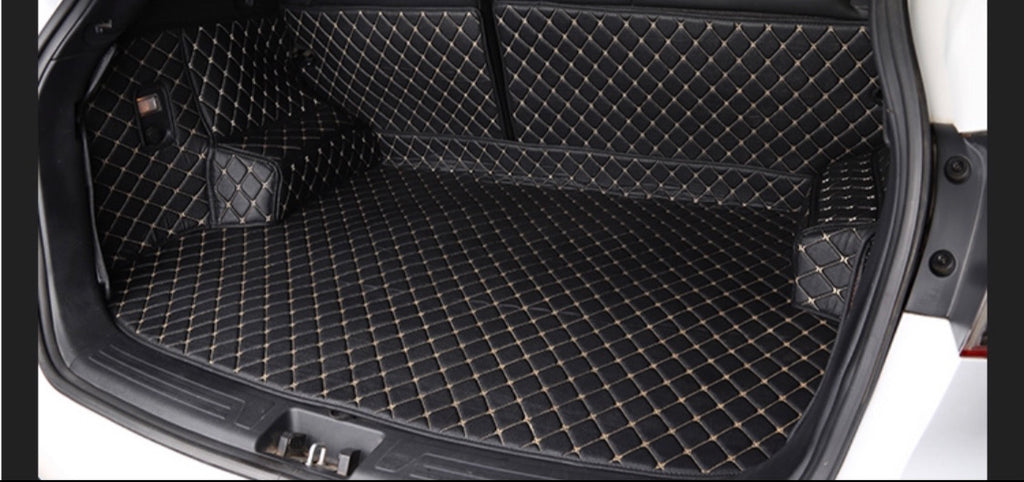 Full cover Cargo mat Black and Beige