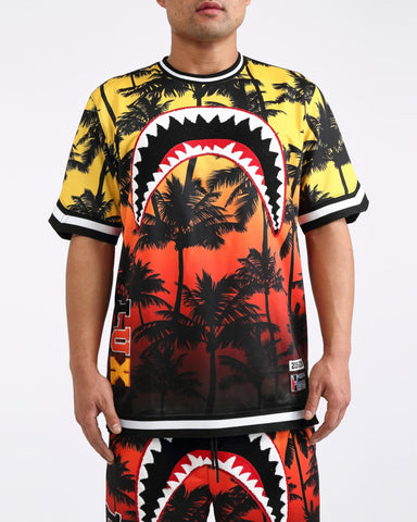 HUDSON Sharkmouth Palms Jersey