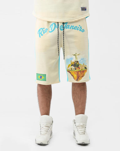 HUDSON WELCOME TO RIO SHORTS (LIGHT BLUE)
