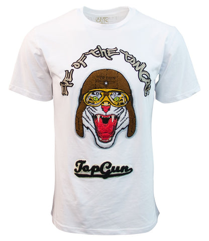 TOP GUN Eye of the Tomcat Tee (White)