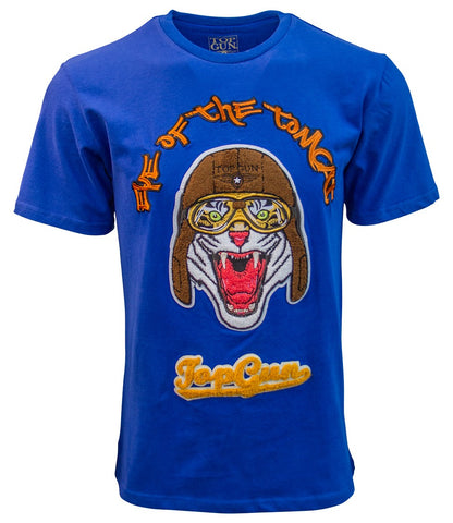 TOP GUN Eye of the Tomcat Tee (Blue)
