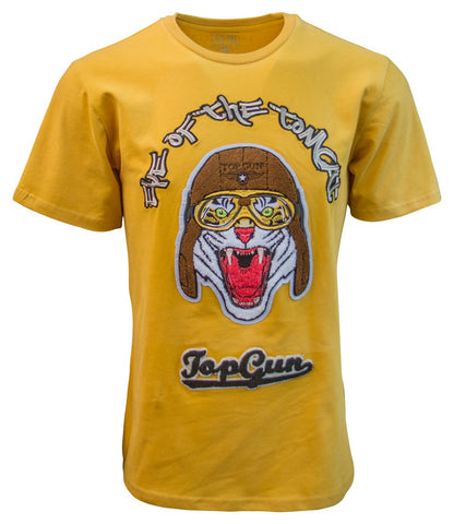TOP GUN EYE OF THE TOMCAT TEE (Mustard)