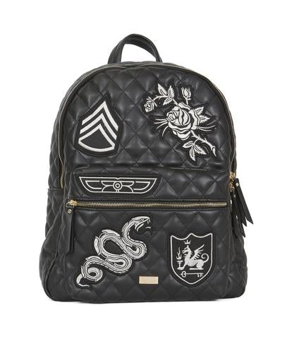 REASON Midnight Quilted Backpack