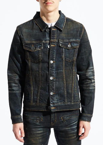Embellish LEONA JACKET (DARK INDIGO)
