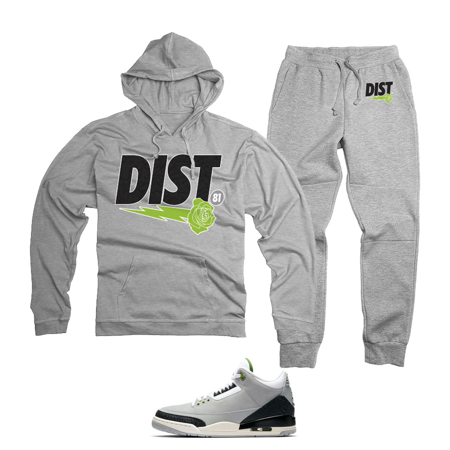 District 81 PullOver Jogging Suit (Grey)