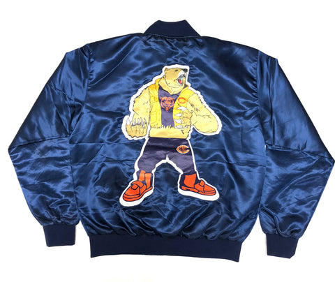 Retro Label Bears Down Jacket