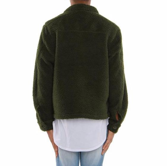 EPTM Military Sherpa Jacket (Olive Green)