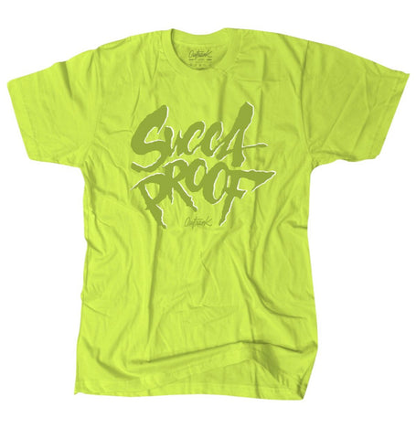 Outrnk Succa Proof Tshirt (Neon Green)