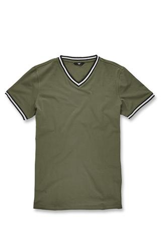 cdb7e17c9643 JORDAN CRAIG Fairfax Premium V-Neck T-Shirt (Dark Olive) – The Shop 147