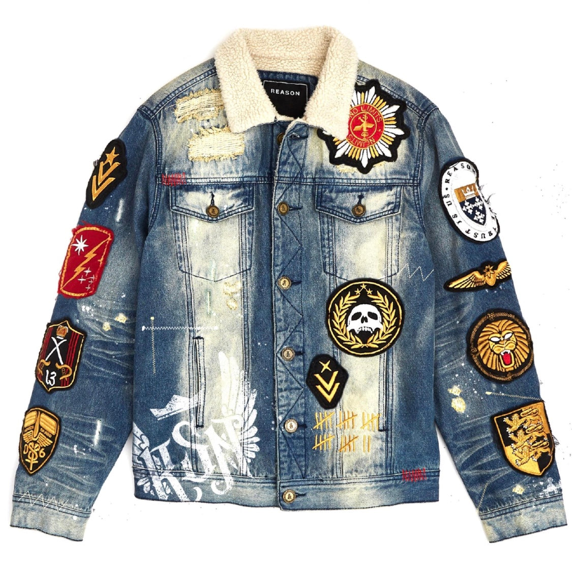 Reason Scout Trucker Denim Jacket