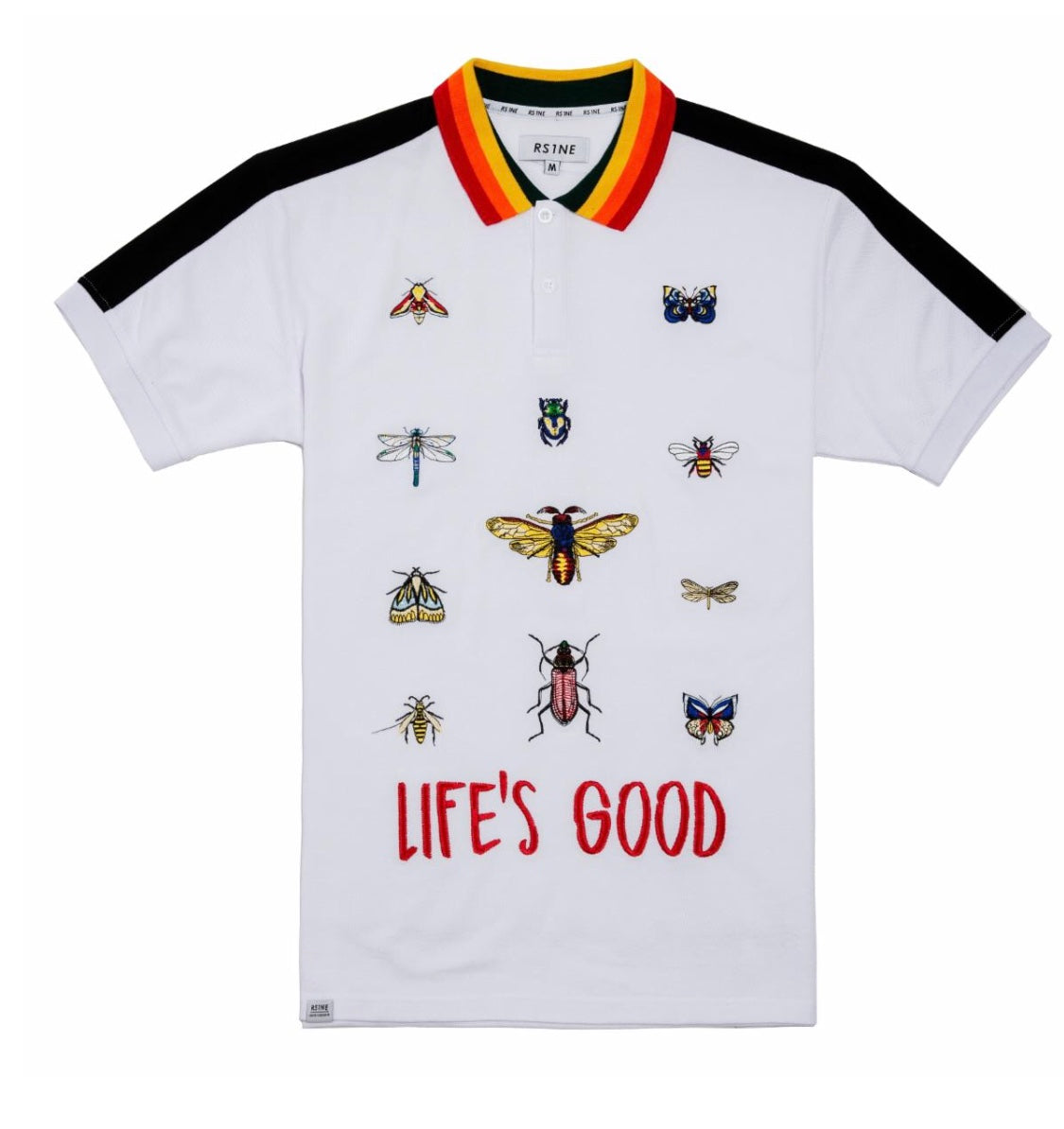 Rise As 1NE Life's Good Polo (White)