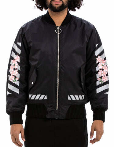 Hudson 3M H Flower Jacket (Black)