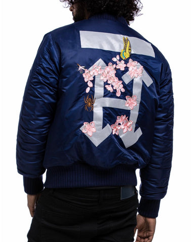 Hudson 3M H Flower Jacket (Navy)