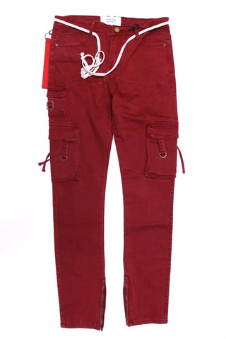 Profound D-Ring Cargo Pants in Rust