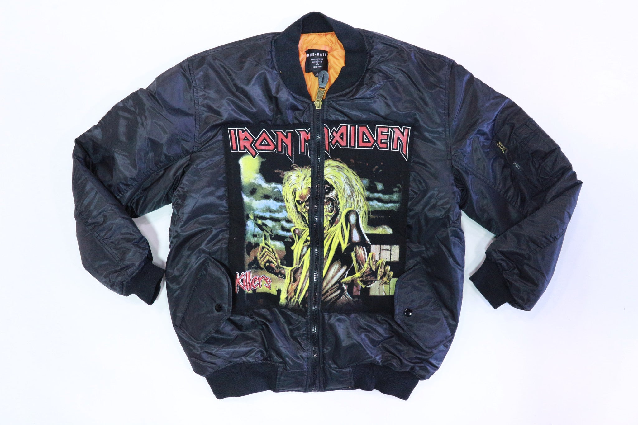 DUE-DATE Iron Maiden Bomber Jacket
