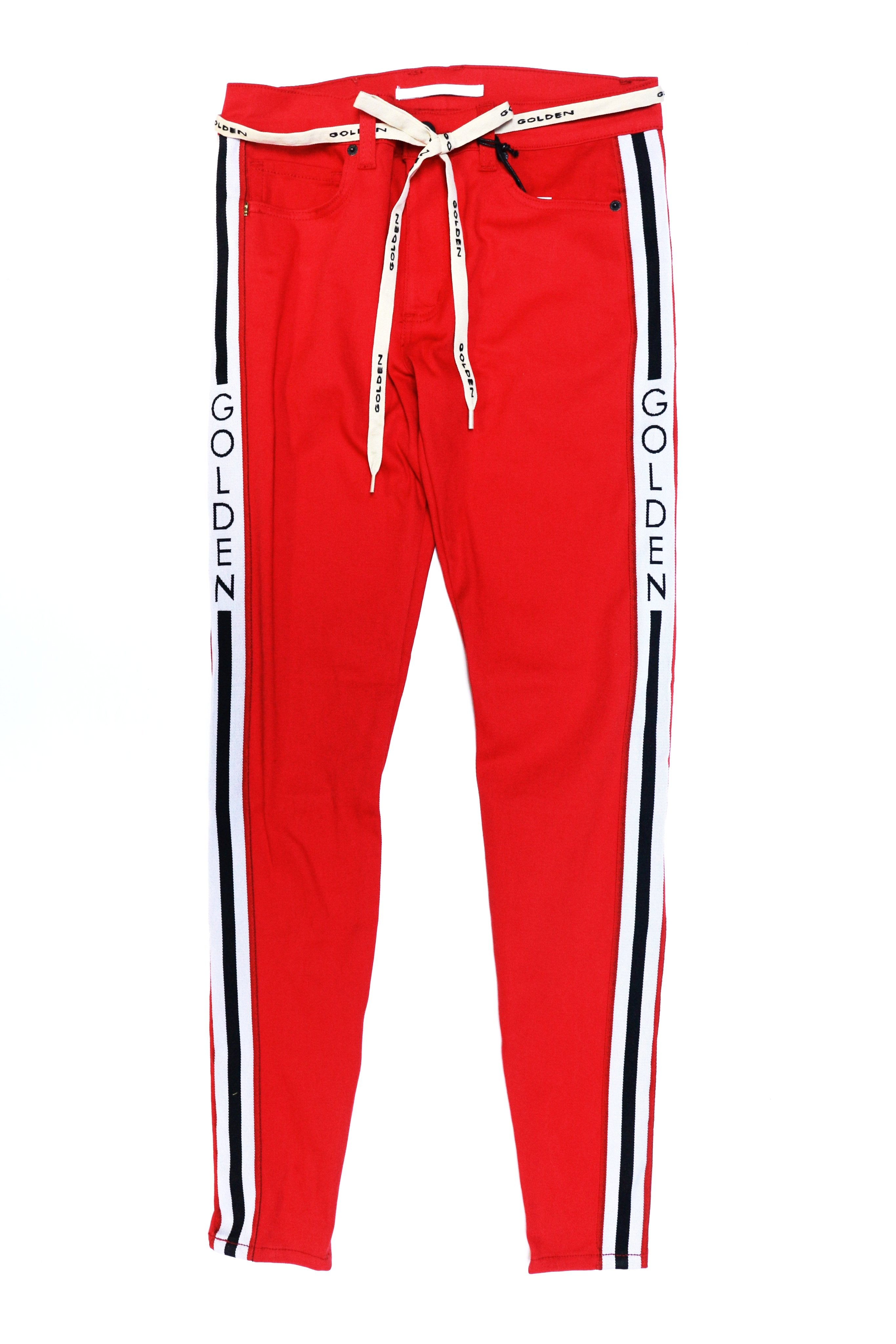 Golden Denim Union Track Golden (Red)