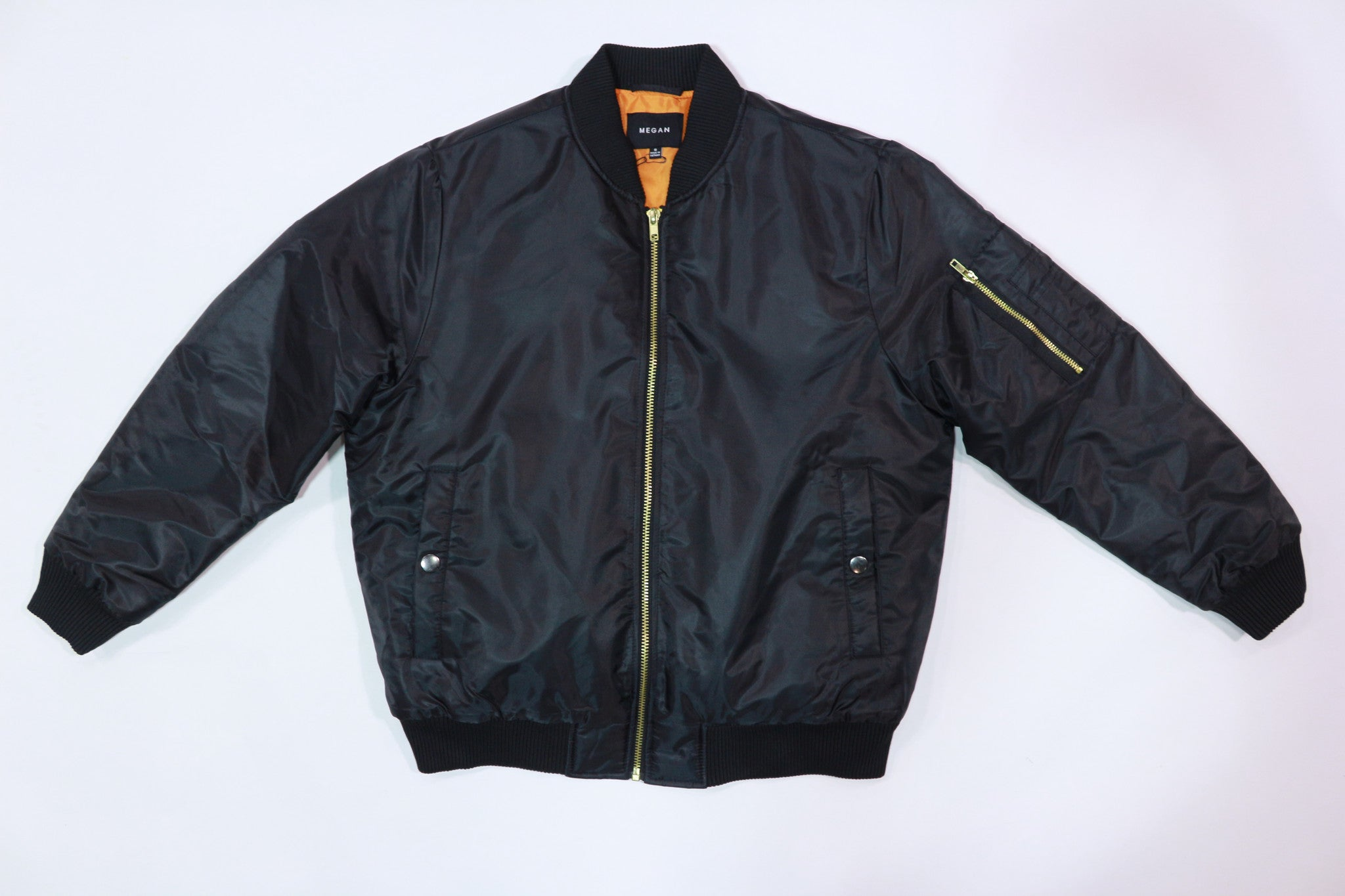 Megan Bombers Black