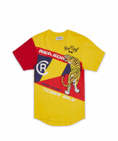 REASON TIGER BAY TEE (YELLOW)