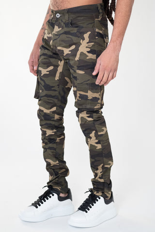 "Serenede ""DIAMONDBACK"" Camo Pants"