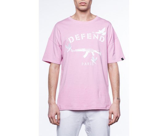 DEFEND Faustin Tee Pink