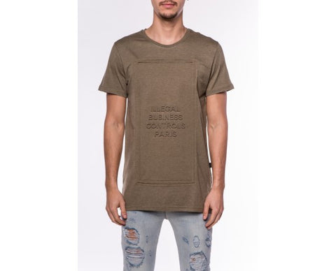 DEFEND Business 3D Tee Olive