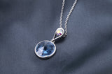 Swarovski®Embellished Simple Pendant Design.