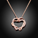 Lumax Double Heart Pendant.
