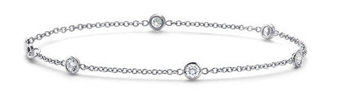 Diamond Station Bracelet.