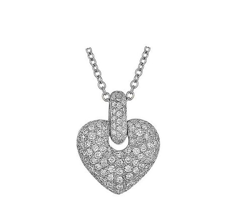 Diamond Heart Pendant.