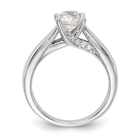 Lumax  Round Solitaire Diamond  Engagement Ring