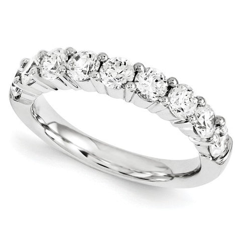 Lumax Half Eternity Band.