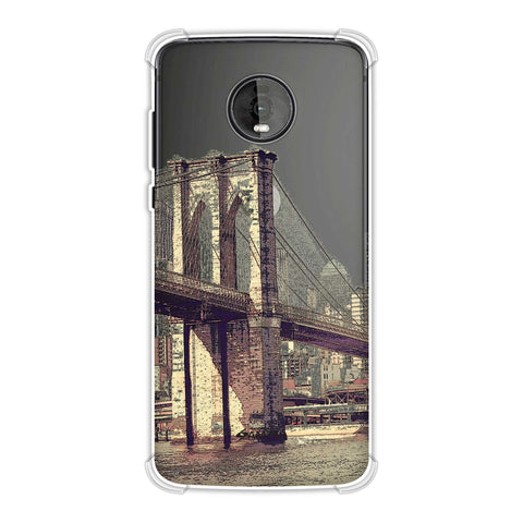 Bridge Link Soft Flex Tpu Case For Motorola Moto Z4