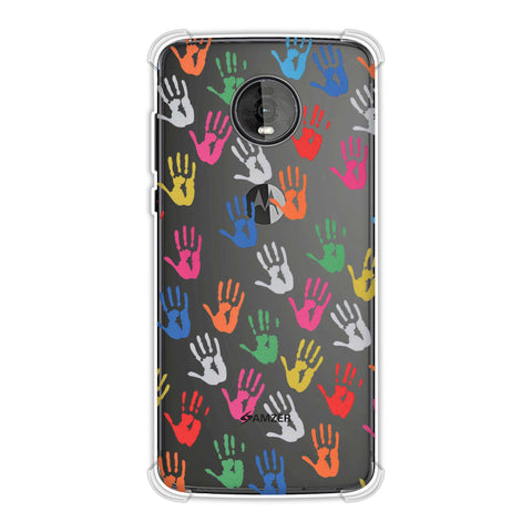 Colour Palms Soft Flex Tpu Case For Motorola Moto Z4