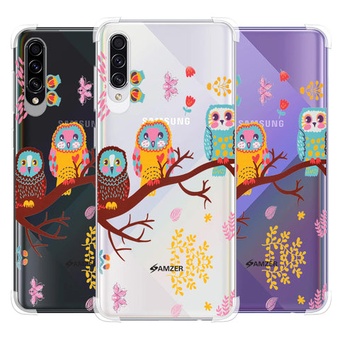 Owls On Branch Soft Flex Tpu Case For Samsung Galaxy A50s