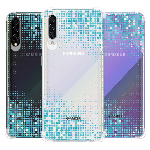Blue Matrix Soft Flex Tpu Case For Samsung Galaxy A50s