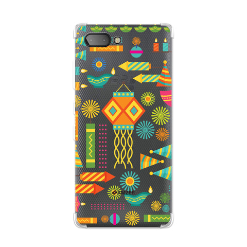 Diwali Galore Soft Flex TPU Case For BlackBerry Key2