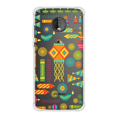 Diwali Galore Soft Flex Tpu Case For Motorola Moto Z4