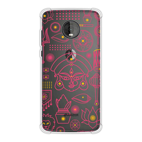 Divine Goddess - Red Soft Flex Tpu Case For Motorola Moto Z4